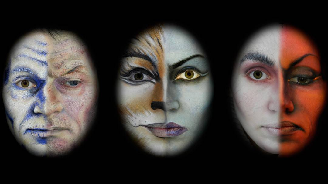 CHARACTER- UND THEATER-MAKE UP 1