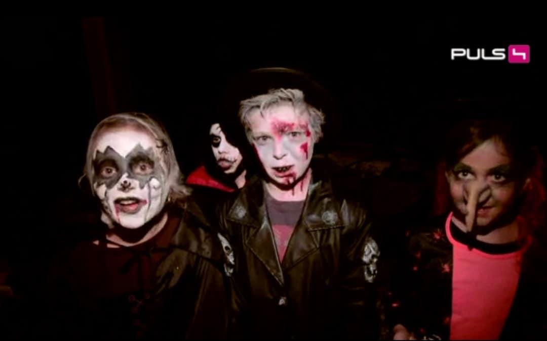 Maske-Wien auf Puls 4 TV zu Halloween | 30.10.2015