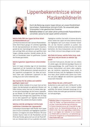 Link PDF: Link zu den originalen Artikel: Weleda Magazin April 2017