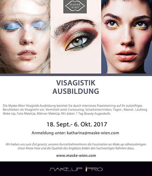 Visagistik Ausbildung: 3 Wochen (15 Tage)